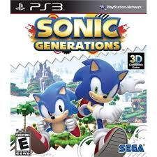 Sonic Generations - PS3 Seminovo