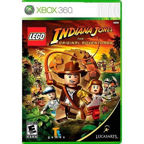 Lego Indiana Jones - Xbox 360 Seminovo