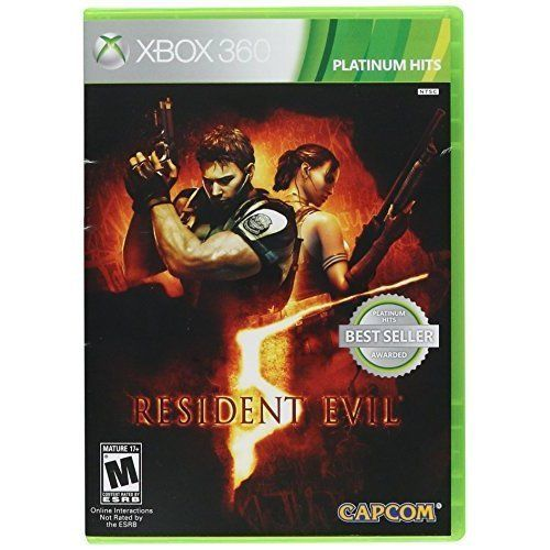 Resident Evil 5 - Xbox 360 Seminovo