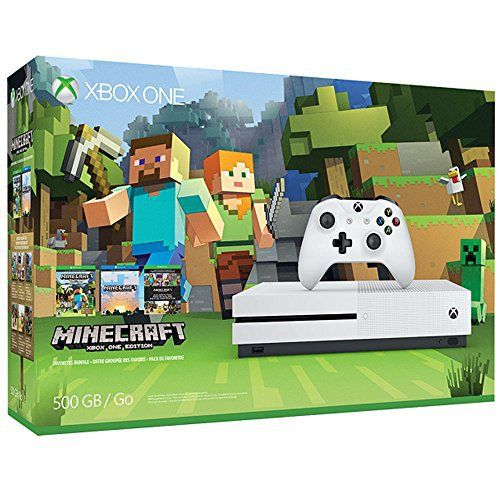 Xbox One S 500 GB - Minecraft