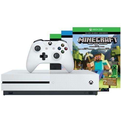 Xbox One S 500 GB - Minecraft