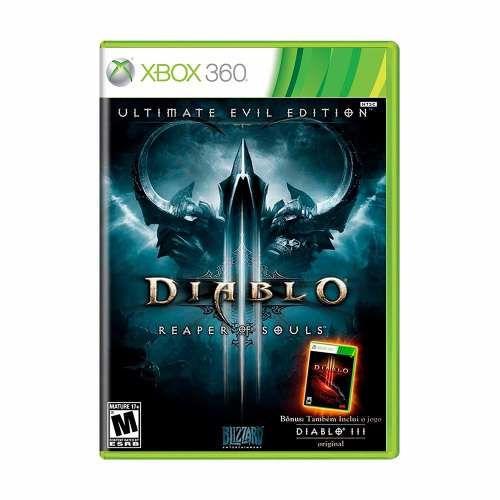 Diablo 3 Reaper of Souls - Xbox 360 Seminovo