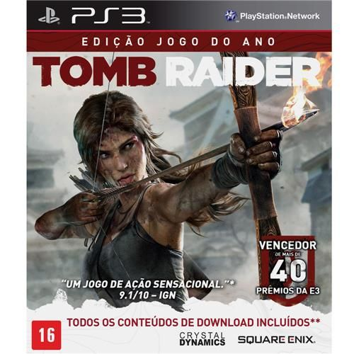 Tomb Raider - Edição Jogo do Ano - PS3 Seminovo