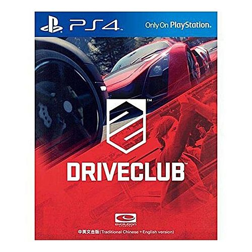 Driveclub - PS4 Seminovo