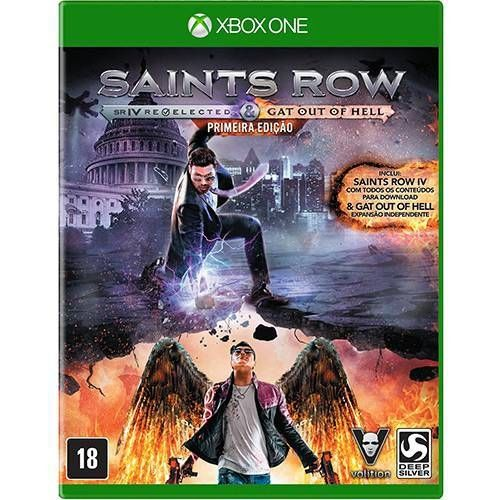 Saints Row IV Re-Elected + Gat Out Of Hell - Xbox One Seminovo
