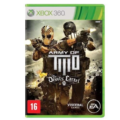Army Of Two: The Devil's Cartel - Xbox 360 Seminovo