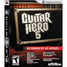 Guitar Hero 5 - PS3 Seminovo