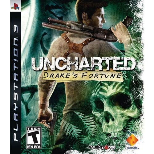 Uncharted Drake's Fortune - PS3 Seminovo