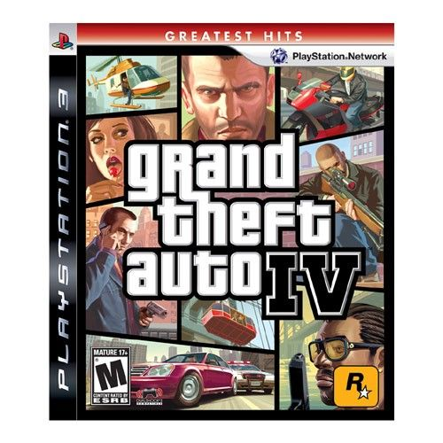 Grand Theft Auto IV - PS3 Seminovo
