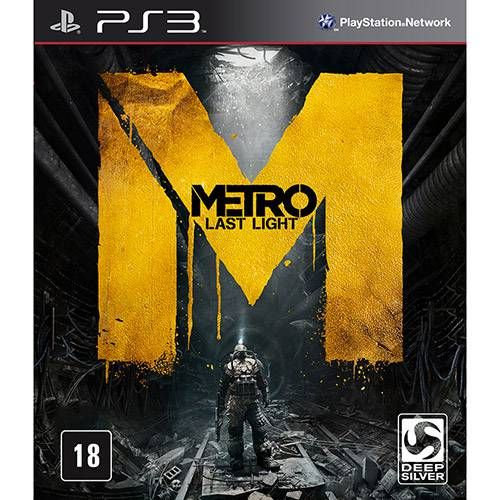 Metro Last Light - PS3 Seminovo
