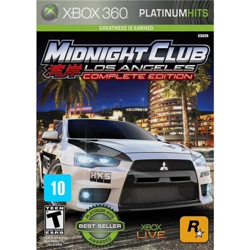 Midnight Club Los Angeles: Complete Edition - Xbox 360 Seminovo