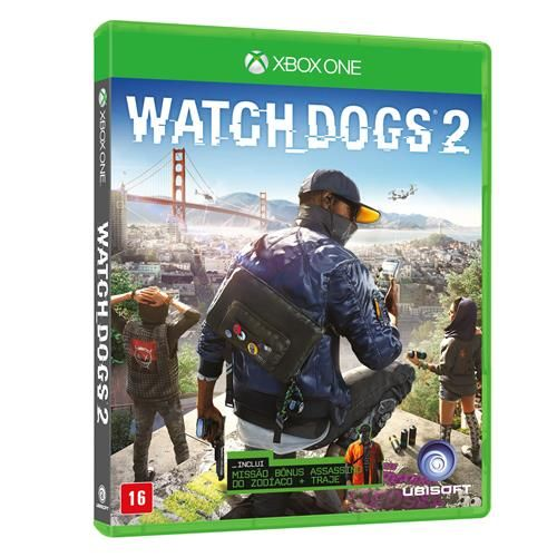 Watch Dogs 2 - Xbox One Seminovo