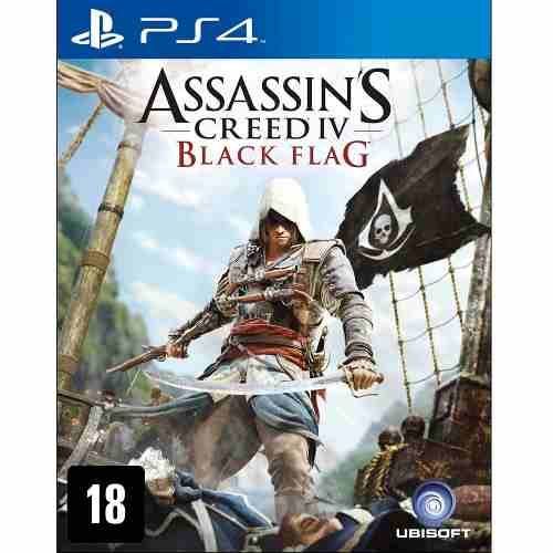 Assassins Creed IV Black Flag - PS4 Seminovo