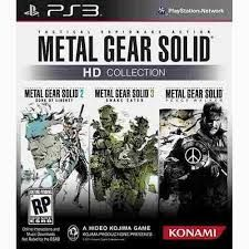 Metal Gear Solid HD Collection - PS3 Seminovo