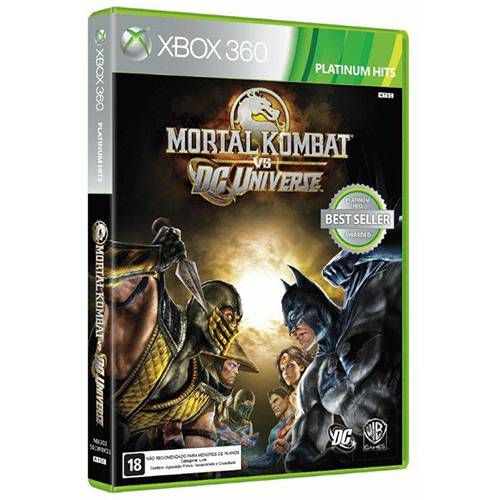 Mortal Kombat VS DC Universe - Xbox 360 Seminovo