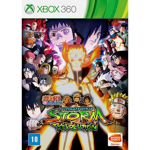 Naruto Shippuden Ultimate Ninja Storm Revolution - Xbox 360 Seminovo