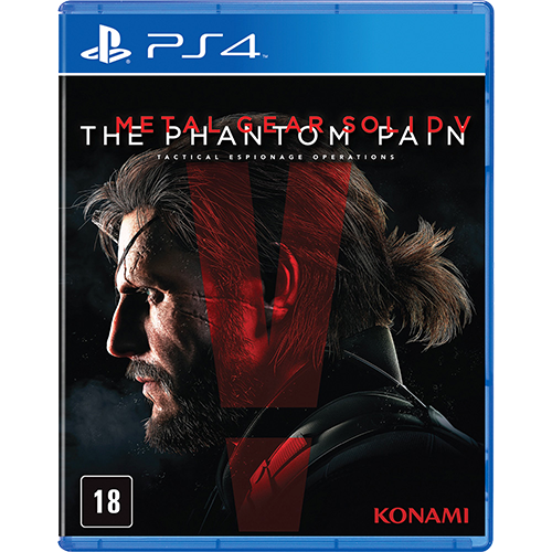 Metal Gear Solid V: The Phantom Pain - PS4 Seminovo
