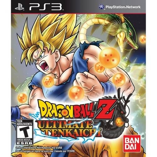 Dragon Ball Z Ultimate Tenkaichi - PS3 Seminovo