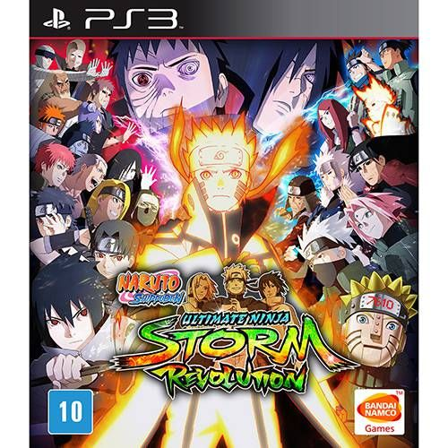 Naruto Shippuden Ultimate Ninja Storm Revolution - PS3 Seminovo
