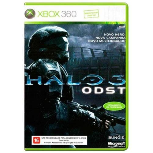 Halo 3 ODST - Xbox 360 Seminovo
