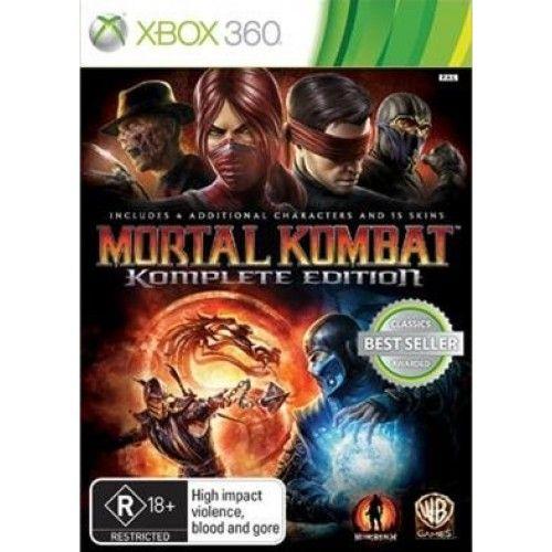 Mortal Kombat Komplete Edition - Xbox 360 Seminovo