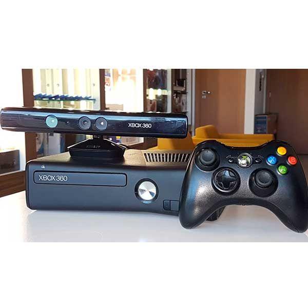 Xbox 360 + 2 Controles Originais e Kinect