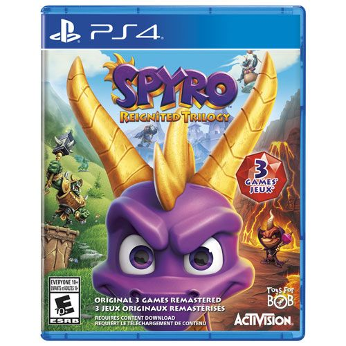 Spyro Reignited Trilogy - PS4 Midia Fisica