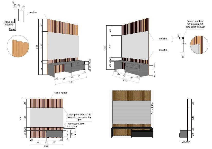 Projeto design de interiores - Construinove