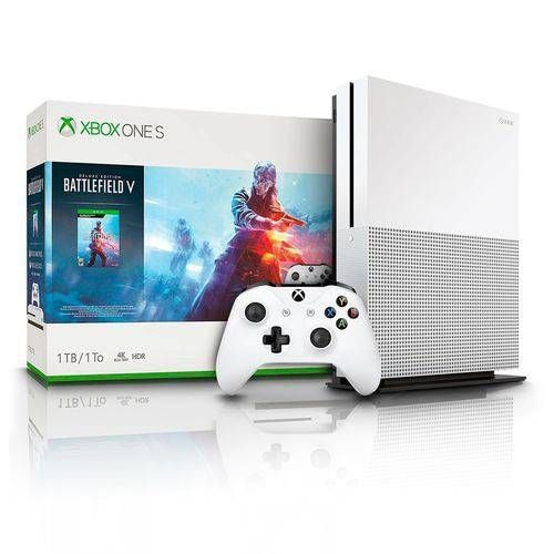 Xbox One Slim - 1TB + Battlefield V Midia Digital