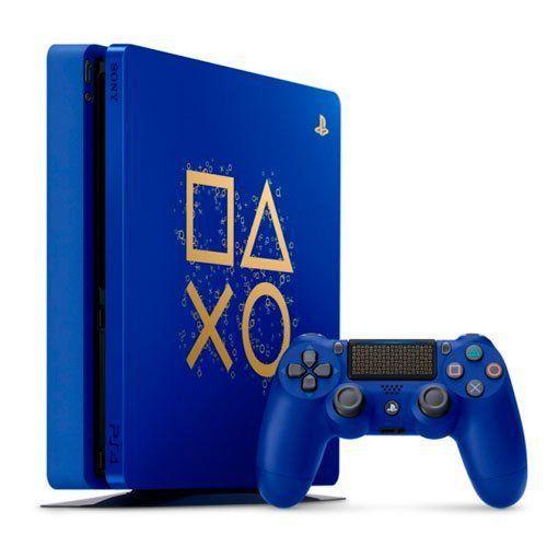Playstation 4 - Edição Azul 1TB - Seminovo