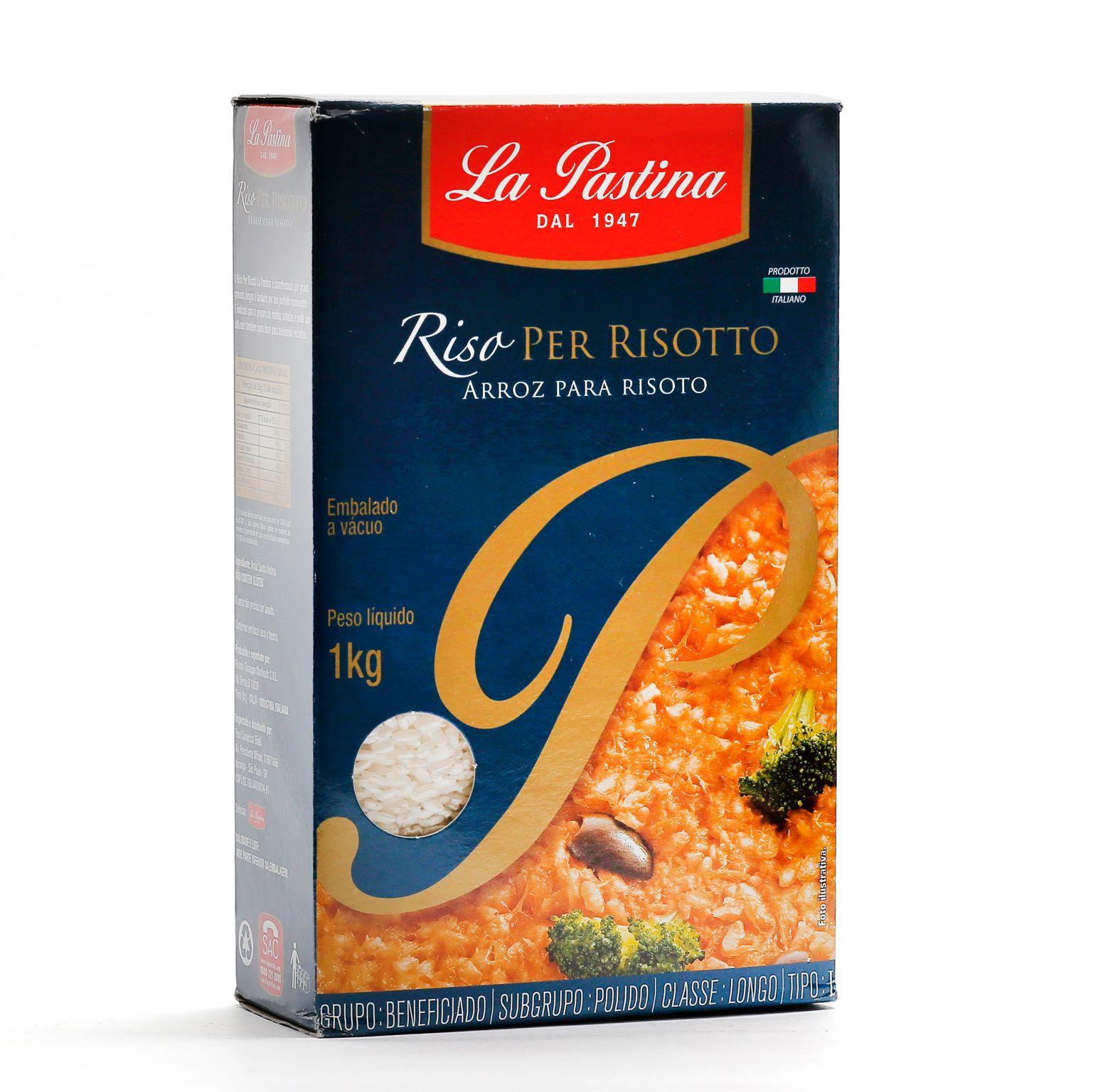 Arroz para Risoto Lapastina 1kg