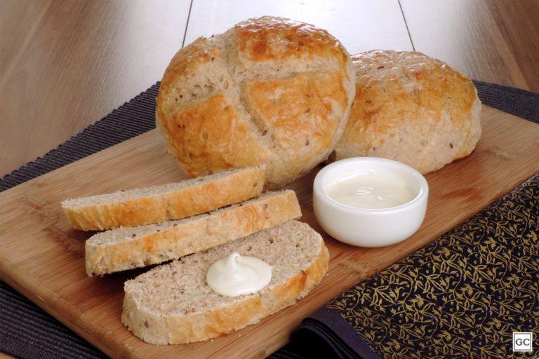 Pão de Linhaça e Aveia