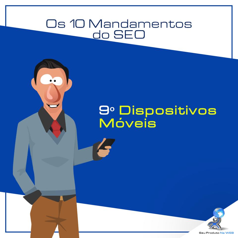 10 Mandamentos do SEO - Dispositivos Móveis