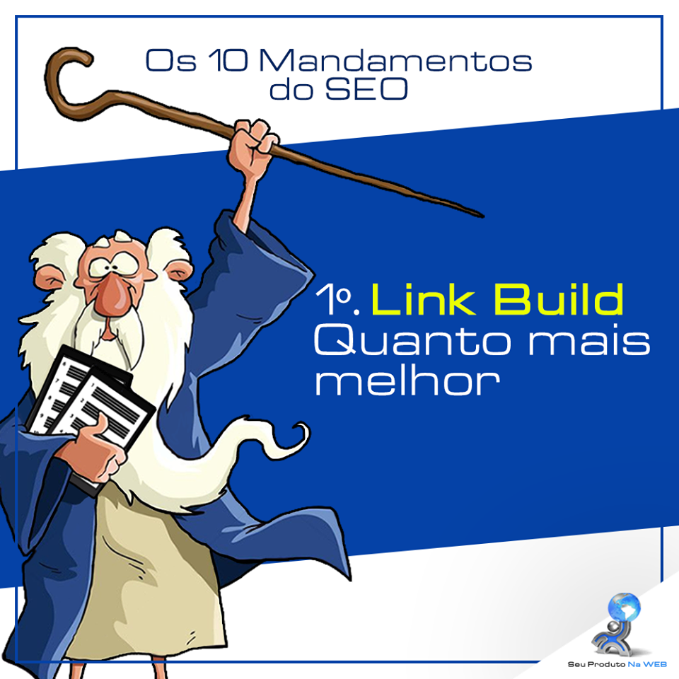 10 Mandamentos do SEO - Link Build