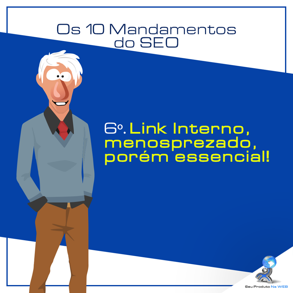 10 Mandamentos do SEO - Link Interno