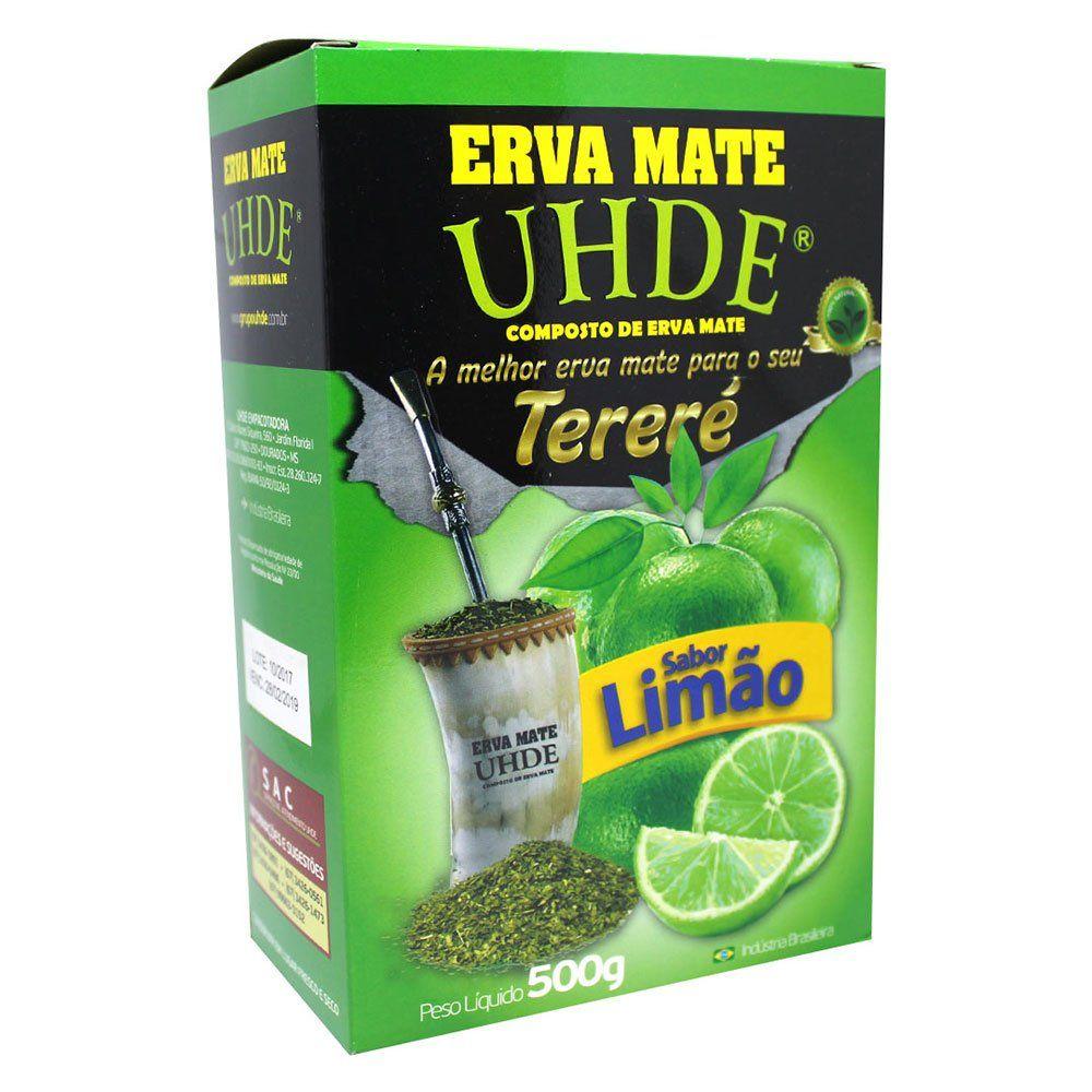 Erva Mate Tereré Uhde Sabor Limão 500g