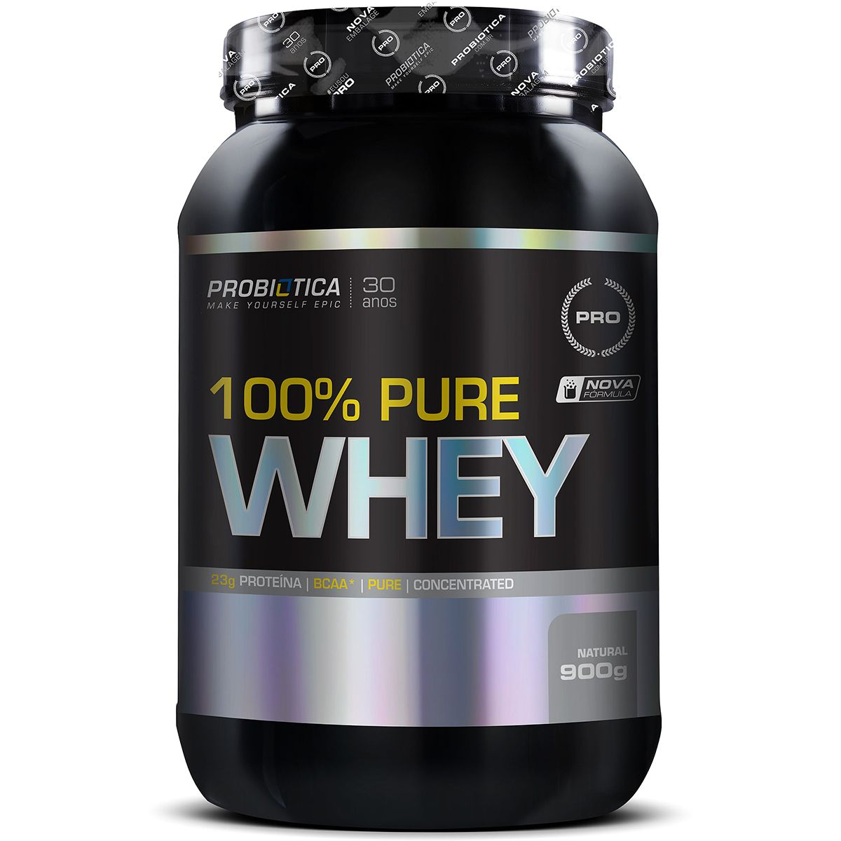 100% Pure Whey 900g - Chocolate - Probiótica