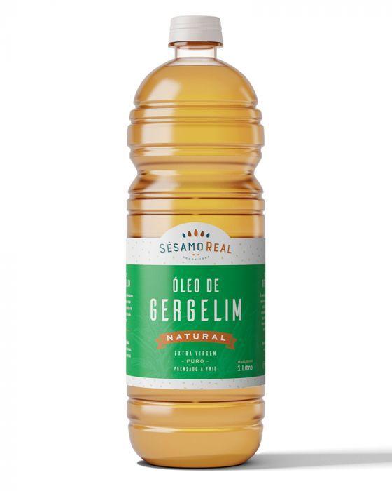 Óleo de Gergelim Natural Sésamo Real 1 Litro