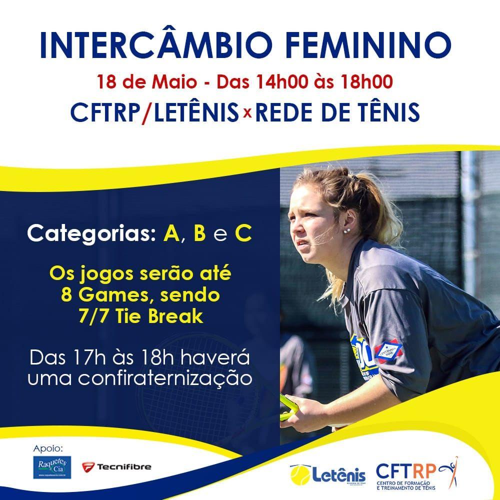 INTERCAMBIO FEMININO LETENIS X REDE TENIS