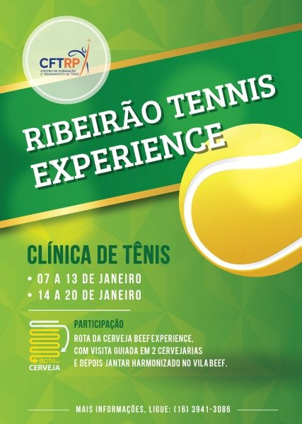 Ribeirão Tennis Experience 2018/01