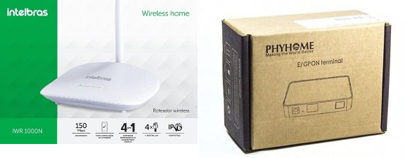 KIT Phyhome Comodato com roteador Intelbras 1000N