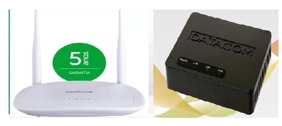 Kit Comodato Onu Datacom e Roteador 3000N Intelbras