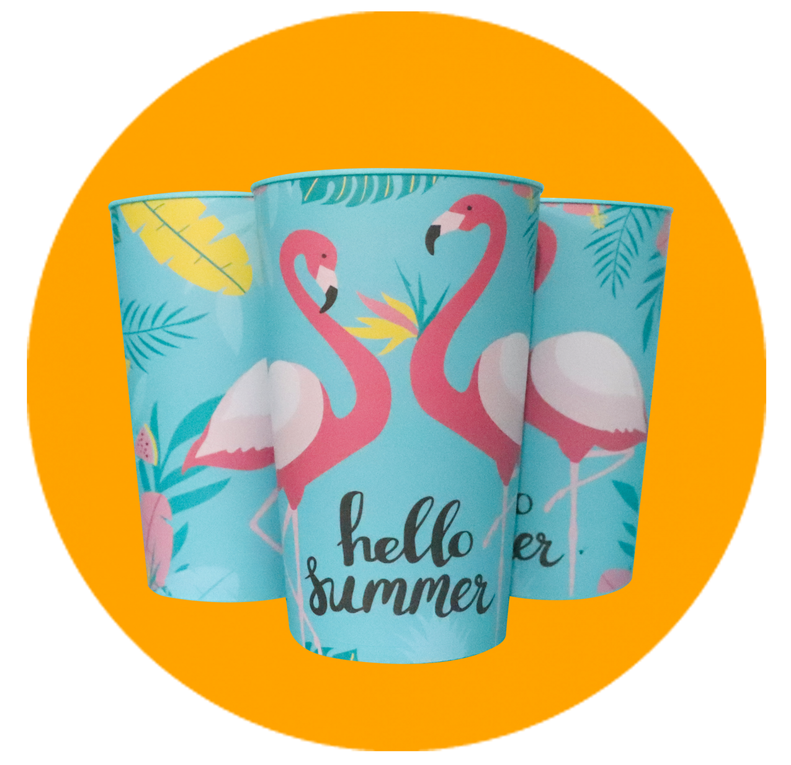 Copo Label 550ml - Hello Summer