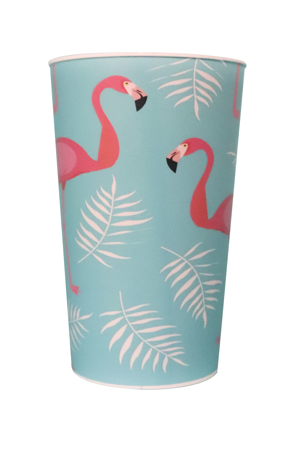 Copo Label 550ml Branco - Flamingo  - Copo frente