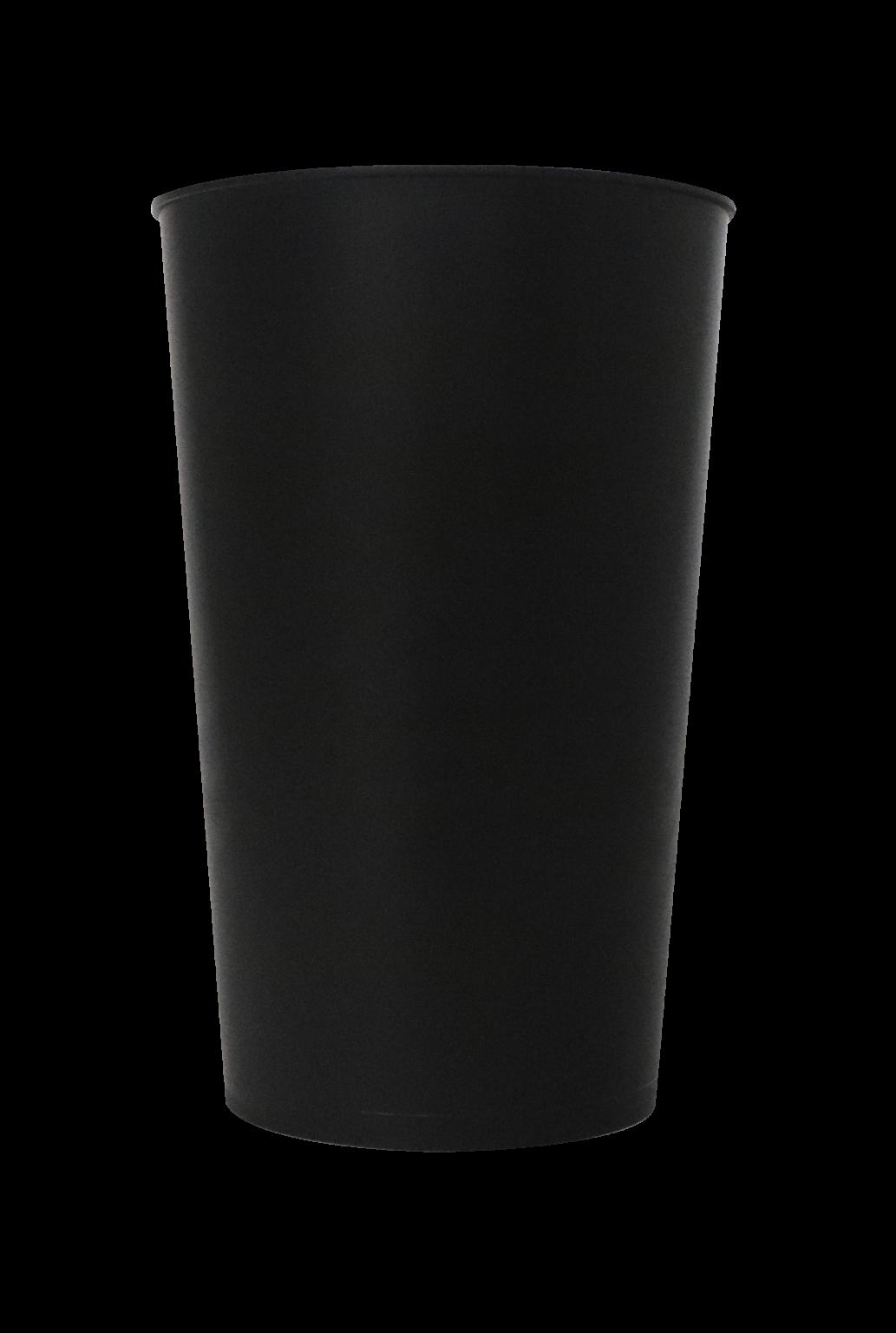 Copo Label 550ml - Yoda - Copo preto liso