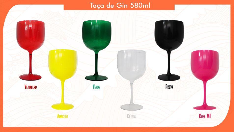 40 Taças de Gin 580ml Personalizadas