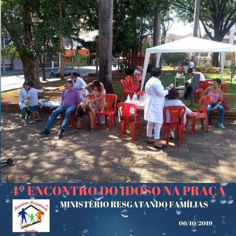 4 Encontro do Idoso na Praça