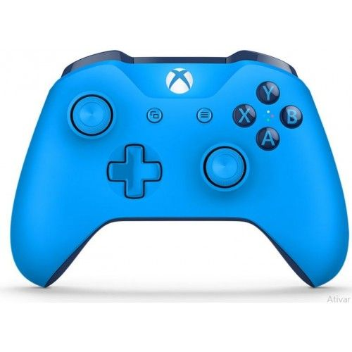 Controle Original Microsoft Azul - Xbox One