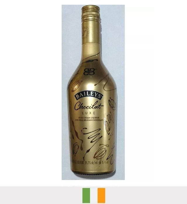 Licor Baileys Chocolat Luxe 500ml - Licor Baileys Chocolate Belga Luxe 500 Ml Ed. Limitada Gold