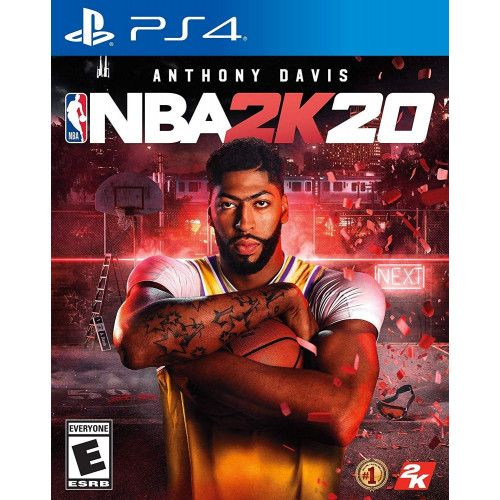 NBA 2K20 - Ps4 Mídia Física Seminovo